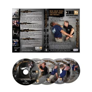 Krav Maga Video KMG P1-P5. Die DVD zur idealen Nachbearbeitung deines Trainings.